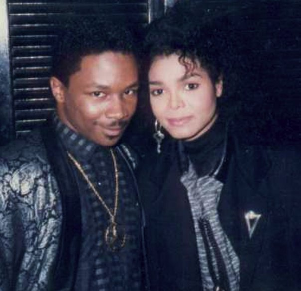 Chip E with Janet Jackson