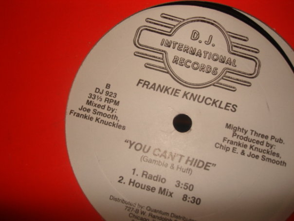 Fankie Knuckles - You Can't Hide