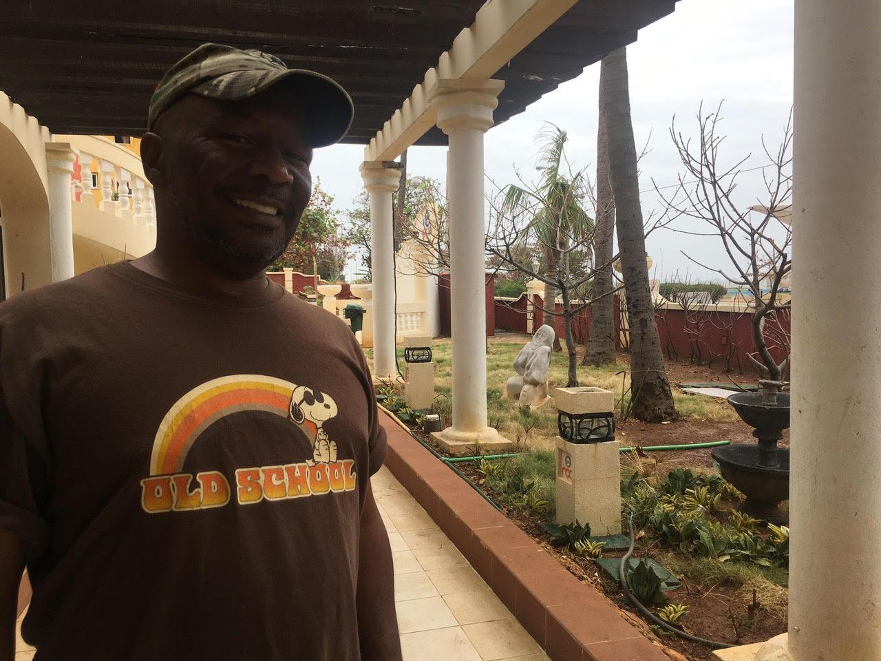Chip E. in Cuba
