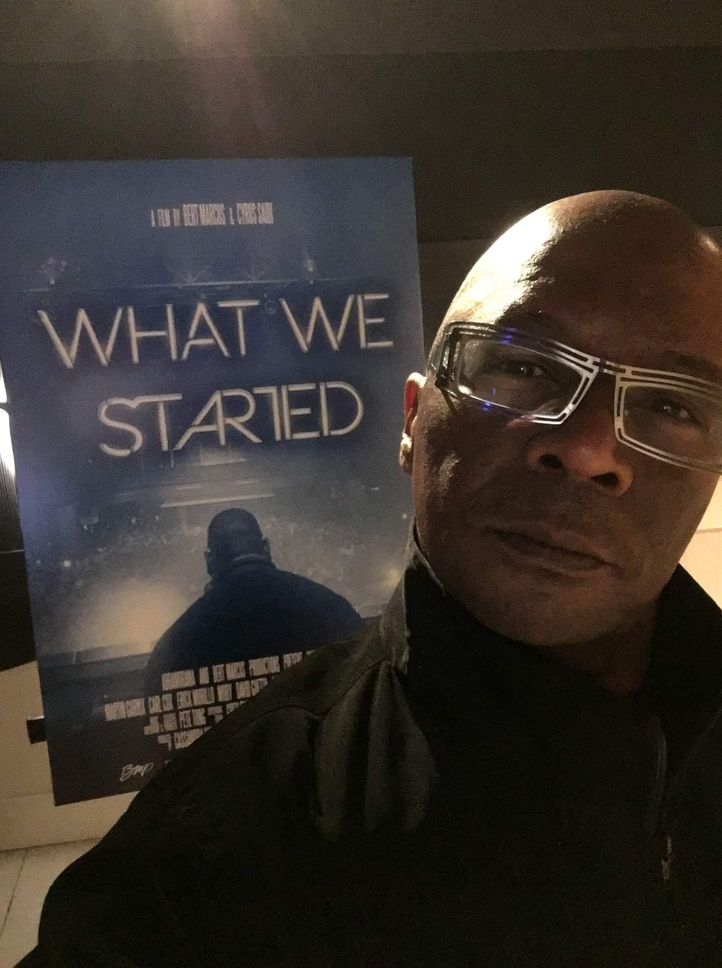 Chip E at Premier of What We Started