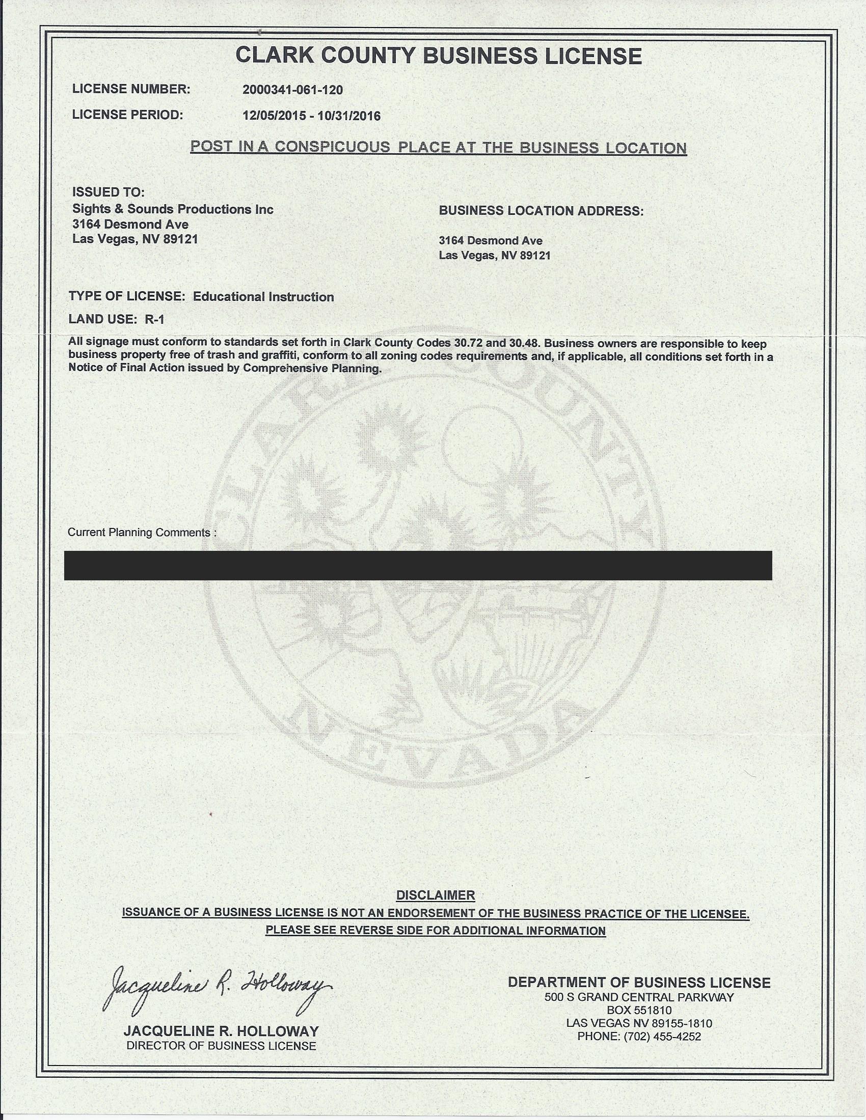 Clark Bus License sanitized