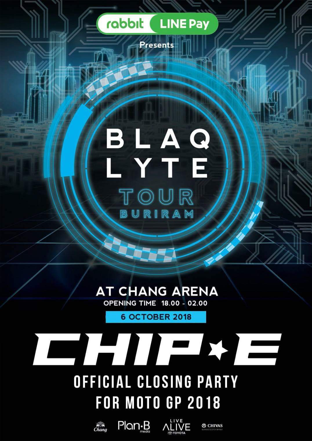 BLAQLYTE Tour Burinam