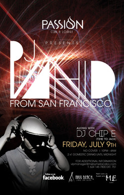 Chip E. at Passion,