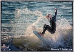 una tarde de surf
