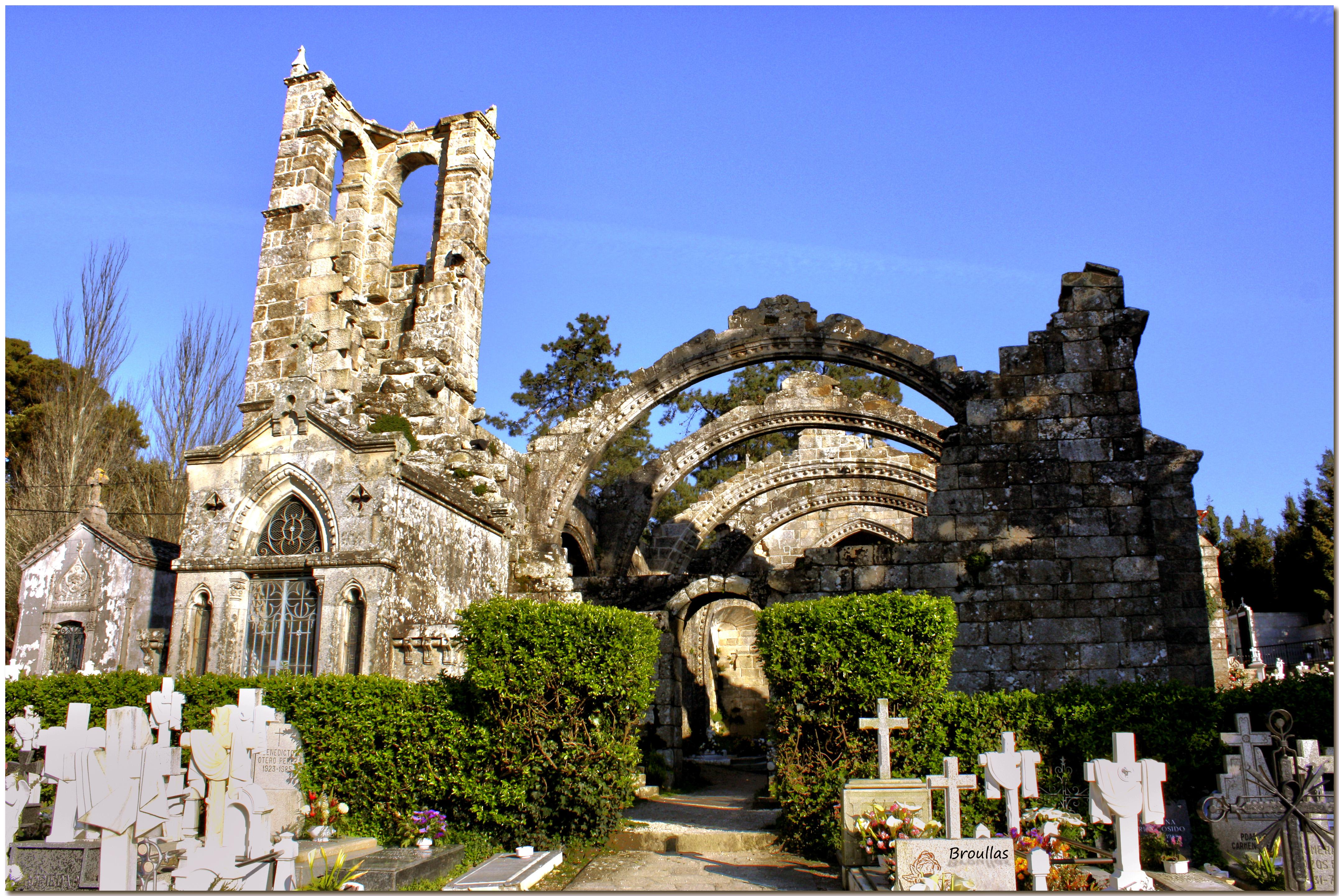 ruinas de santa maria