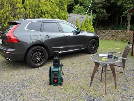 洗車と工作