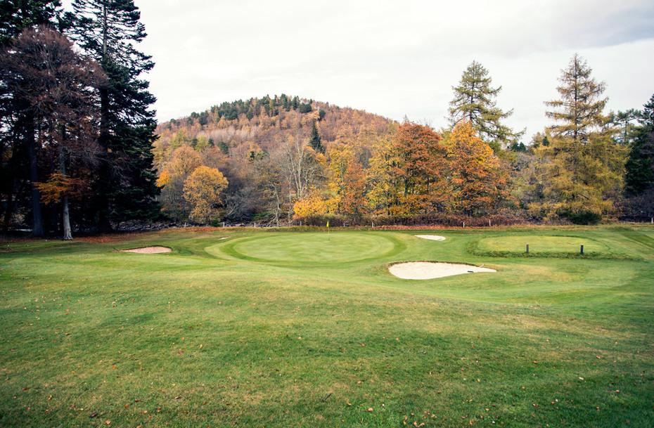 The Queen´s course at Balmoral