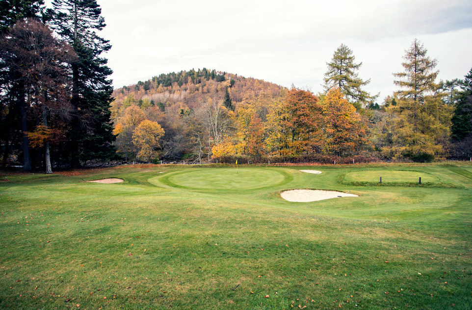 The Queen´s course at Balmoral