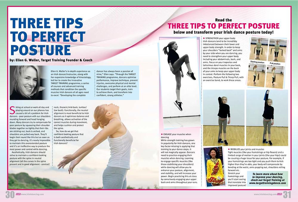 Irish dance strength and conditioning