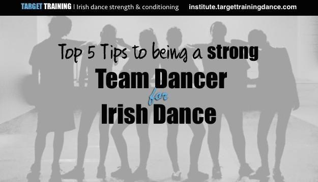 Irish dance strength and conditioning, ceili dance, Irish team dancing