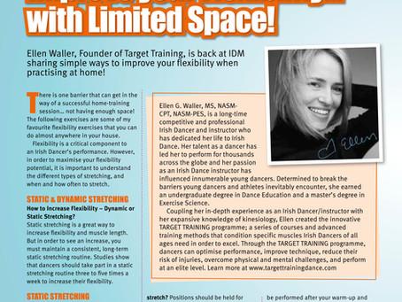 Irish Dancing Magazine features Target Training - May/June 2020