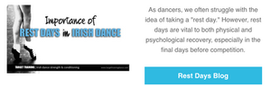 Irish dance strength and conditioning, Irish dance training