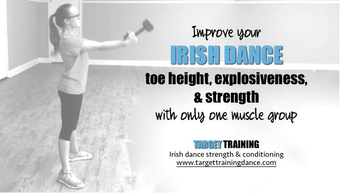 Irish dance toe height exercises, power in Irish dance, glute strength in irish dance, how to jump higher irish dance, dance skills, exercises to jump higher
