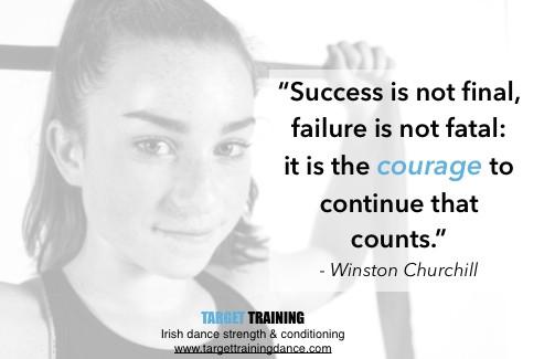Irish dance mindset training, Irish dance visualization, performance anxiety