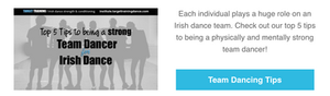 Irish dance training, Irish dance strength and conditioning, Irish team dance tips