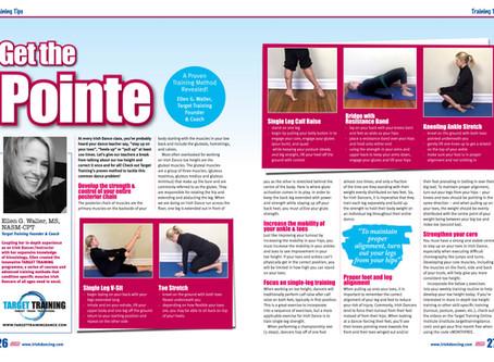 Toe Height & Pointing Exercises in Irish Dancing Magazine