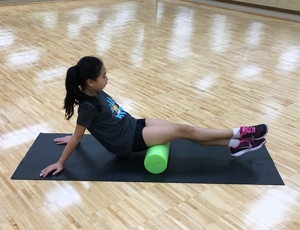 foam rolling for Irish dance, Irish dance mobility, irish dance strength and conditioning