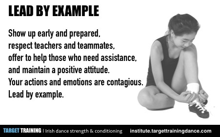 Irish dance strength and conditioning, Irish dance training