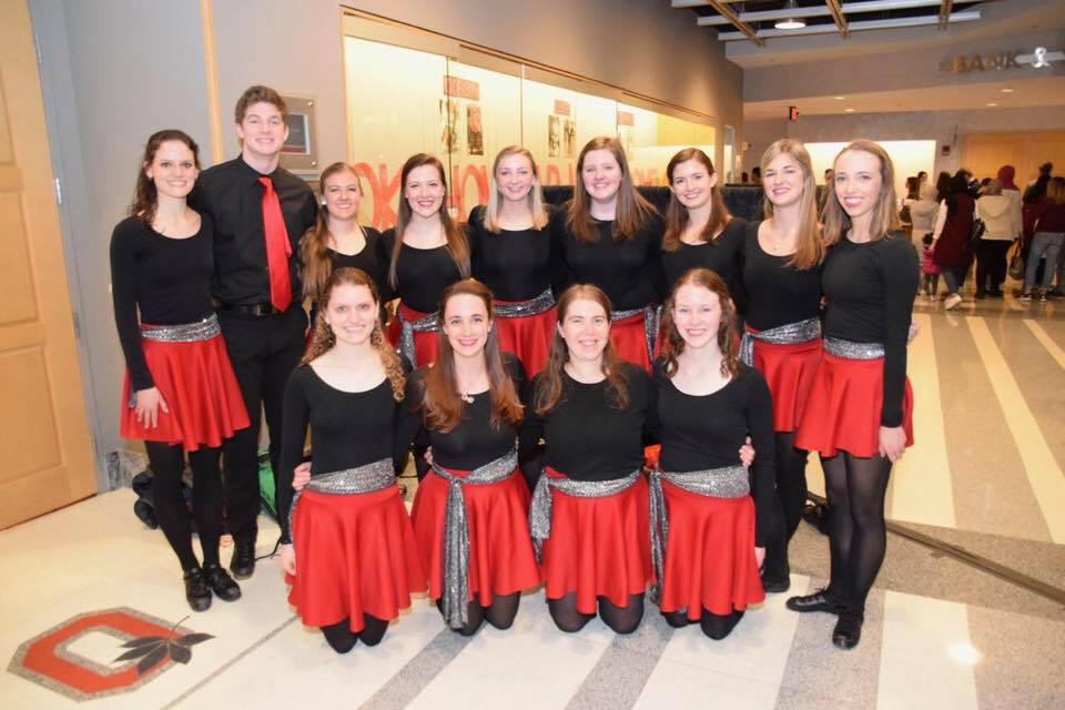 Ohio State Irish Dance Team