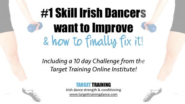 Irish dance strength and conditioning, exercises for Irish dance posture