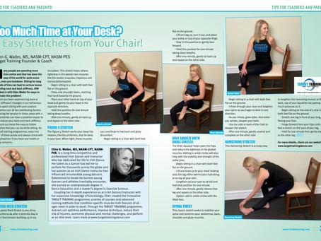 Irish Dancing Magazine Feature  - June/July 2020