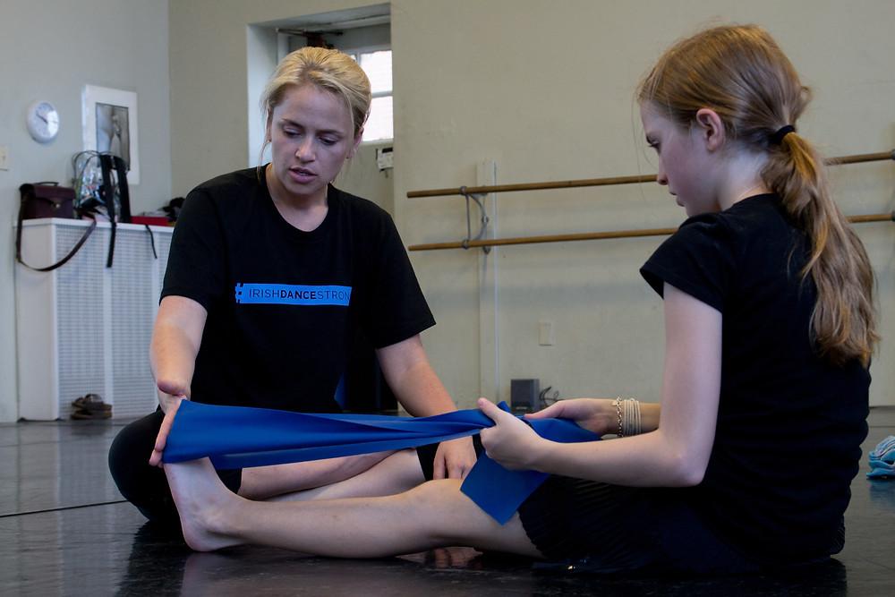 Irish dance strength and conditioning, Irish dance training, research in Irish dance