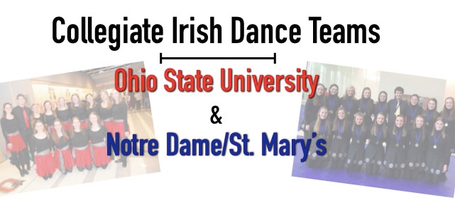 colleges with Irish dance teams, Irish dancing in college