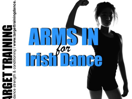 Hear 'arms in' from your dance teachers?  How to finally fix it!
