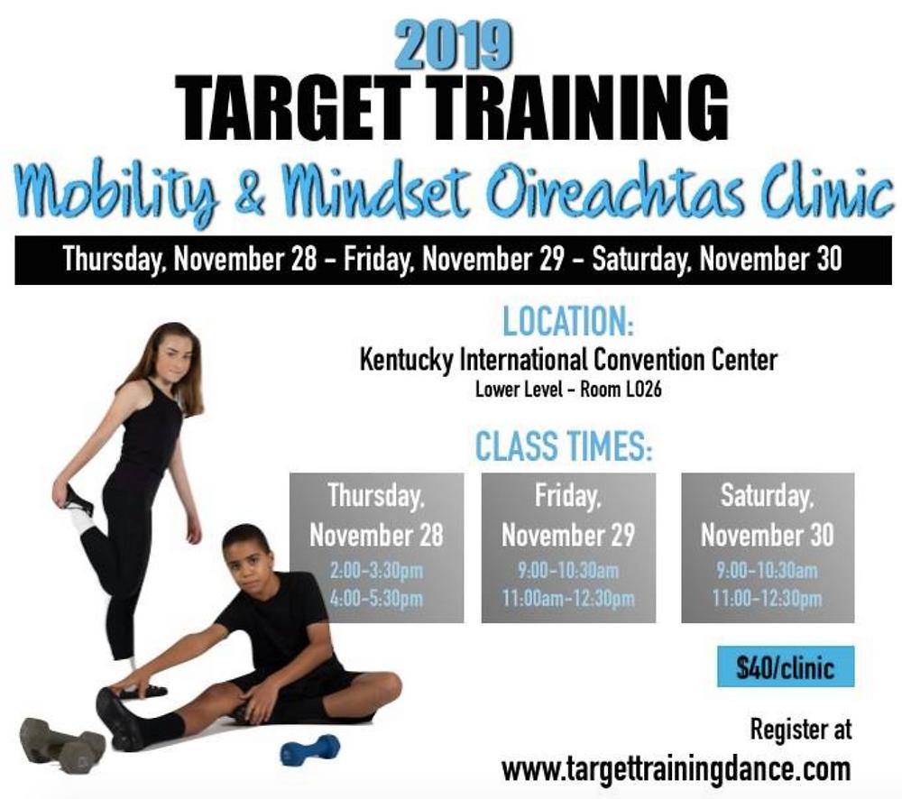 Irish dance mindset training, Irish dance mobility, Irish dance strength and conditioning