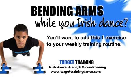 Bending Arms while you Irish dance?