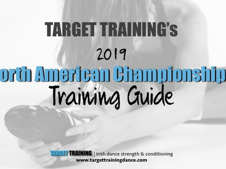 2019 North American Championships Training Guide