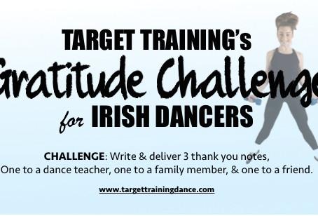 Target Training's GRATITUDE CHALLENGE