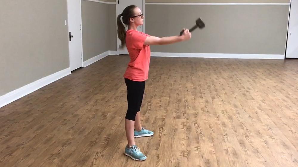 Irish dance toe height exercises, power in Irish dance, glute strength in irish dance