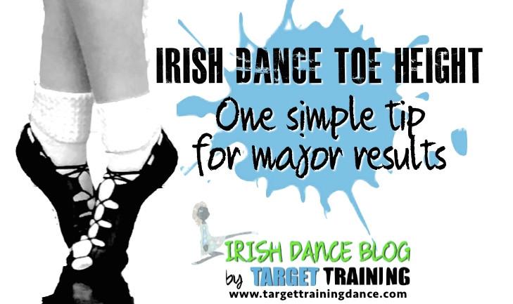 Irish dance toe height exercises, Irish dance strength and conditioning