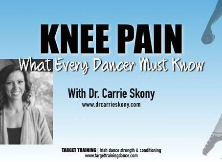 Knee Pain:  What Every Dancer Must Know
