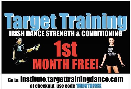 Irish dance strength and conditioning, online Irish dance training