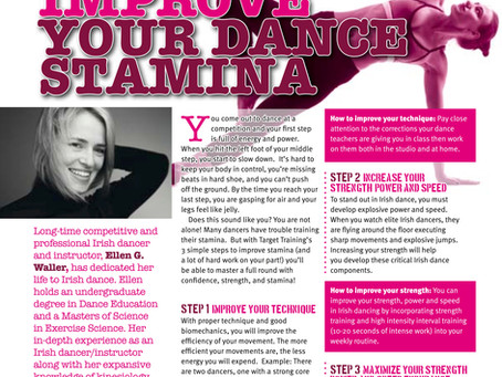 Irish Dancing Magazine features Target Training