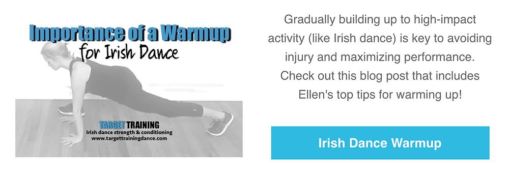 Irish dance strength and conditioning, irish dance warmup, how to warm up for Irish dance, online Irish dance training