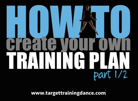 How To: Create Your Own Irish Dance Training Plan, part 1/2