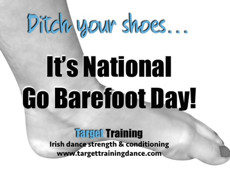 National Go Barefoot Day!