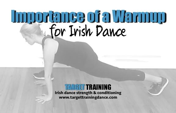Irish dance strength and conditioning; Irish dance training; Irish dance warmup, RAMP protocol