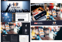 Corporate Identity + Screendesign