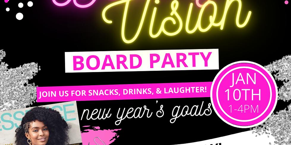 Destiny Vision Board Party