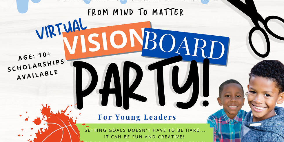 From Mind to Matter Virtual Vision Board Party