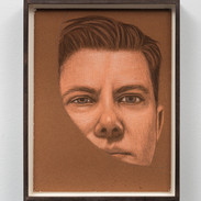 "Amy Adler Tear Jerker Pastel on paper  8"" x 10""  2016"