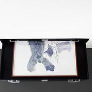 Veli-Matti Hoikka, Untitled (elephant) 2018, acrylic on paper, 22 x 29 7/8 inches