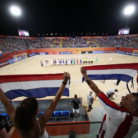 Mundial de Fútbol Playa: el desafío de comunicar un evento histórico en Paraguay