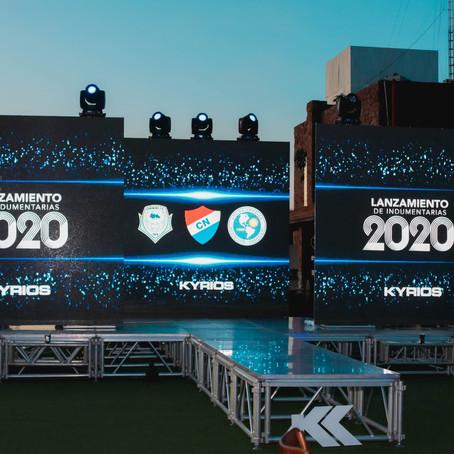 Kyrios Sports lanzó las indumentarias de sus clubes para el 2020