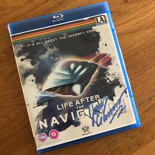 JOEY CRAMER SIGNED - LIFE AFTER THE NAVIGATOR - BluRay (Region Free, Rated 15)