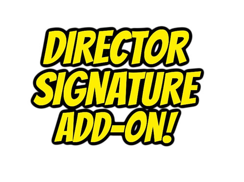 BluRay SIGNED & Personalised by Director Lisa Downs!! (Add-on)